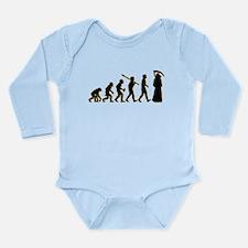 Death Long Sleeve Infant Bodysuit
