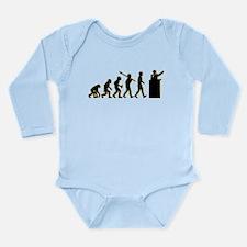 Debater Long Sleeve Infant Bodysuit