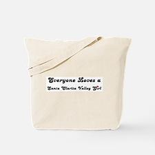 Santa Clarita Valley girl Tote Bag