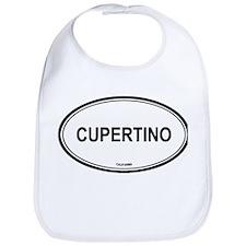 Cupertino oval Bib