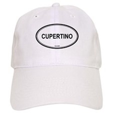 Cupertino oval Baseball Cap