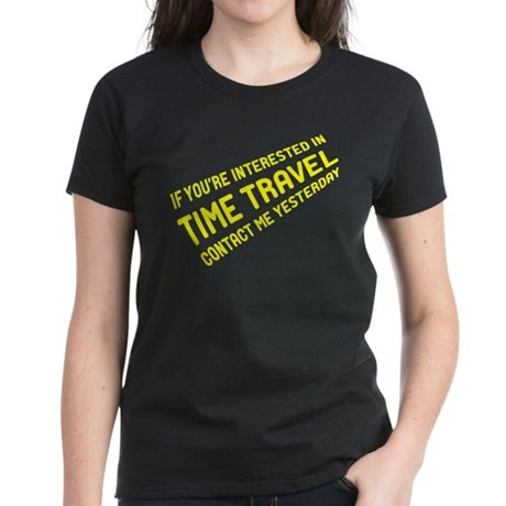 Time Travel Women's Dark T-Shirt