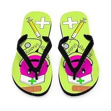 Nursing student 6.PNG Flip Flops