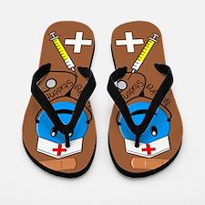 Nursing student 5.PNG Flip Flops