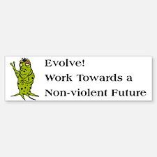 Support Non-Violence Bumper Bumper Bumper Sticker