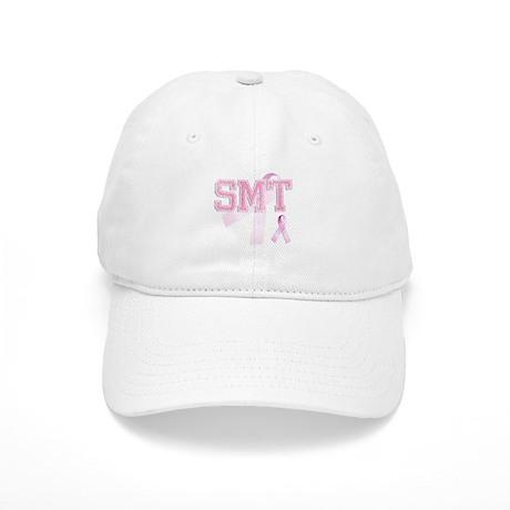 SMT initials, Pink Ribbon, Cap