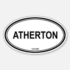 Atherton oval Oval Decal