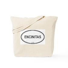 Encinitas oval Tote Bag