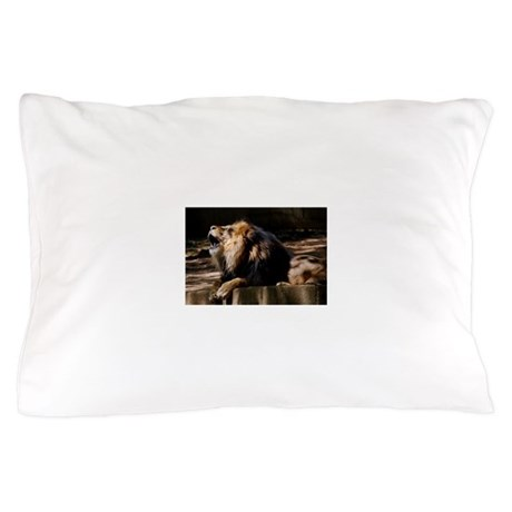 King of the Jungle Pillow Case