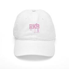 RKB initials, Pink Ribbon, Baseball Cap