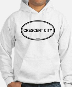 Crescent City oval Hoodie