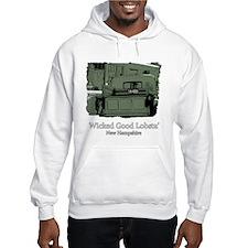 Wicked Good Lobsta-NH-1-Green.png Hoodie