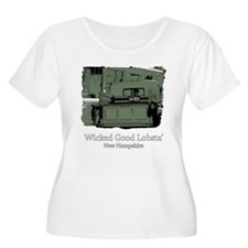 Wicked Good Lobsta-NH-1-Green.png T-Shirt