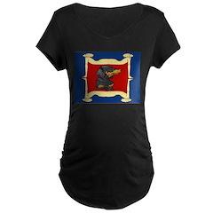 Dachshund Framed by Woman T-Shirt