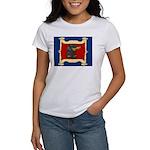 Dachshund Framed by Woman Women's T-Shirt
