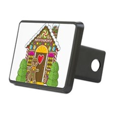 gingerbread house.png Rectangular Hitch Cover