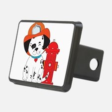 Dalmation Fire Dog Hitch Cover