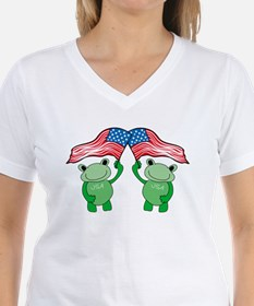 Patriotic Frogs Shirt