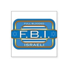 """Full Blooded Square Sticker 3"""" x 3"""""""
