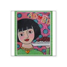 "adobo.jpg Square Sticker 3"" x 3"""