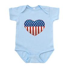 Love America Infant Bodysuit