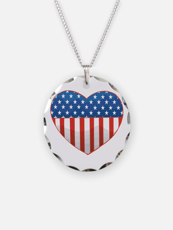 Love America Necklace