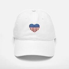 Love America Baseball Baseball Cap