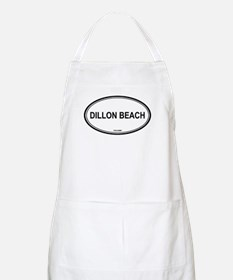 Dillon Beach oval BBQ Apron