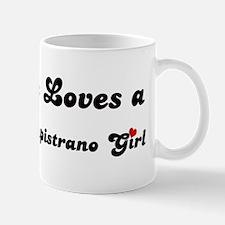 San Juan Capistrano girl Mug