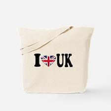 I Heart UK Tote Bag