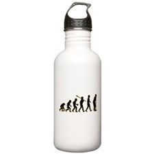 On Crutches Water Bottle