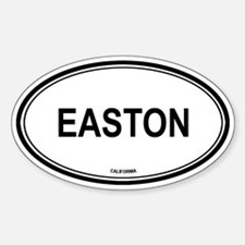 Easton oval Oval Decal