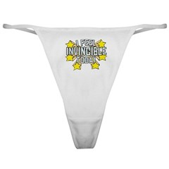 Stars of Invincibility Classic Thong