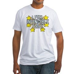 Stars of Invincibility Fitted T-Shirt