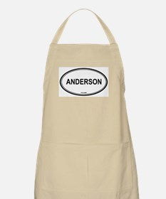 Anderson oval BBQ Apron