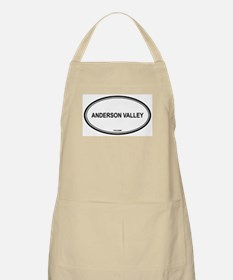 Anderson Valley oval BBQ Apron