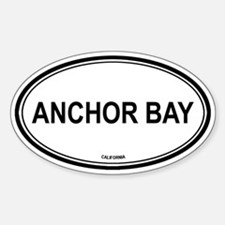 Anchor Bay oval Oval Decal