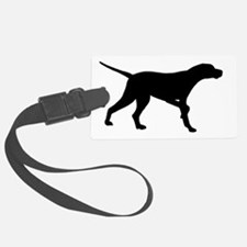 Pointer Dog On Point Luggage Tag