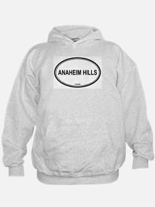 Anaheim Hills oval Hoodie