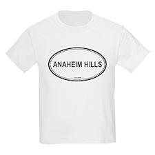 Anaheim Hills oval Kids T-Shirt