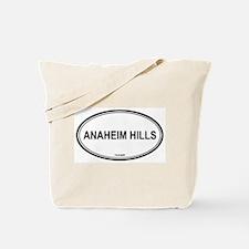Anaheim Hills oval Tote Bag