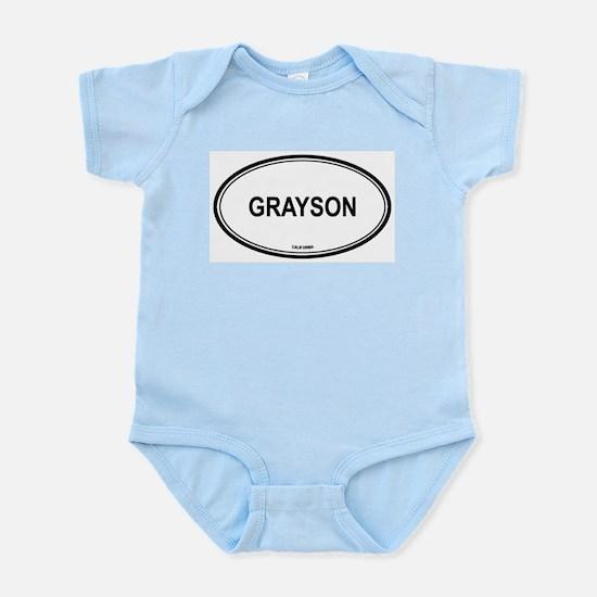 Grayson oval Infant Creeper