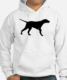 Pointer Dog On Point Hoodie