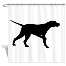 pointer black.png Shower Curtain