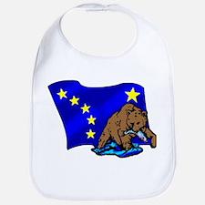 Alaskan Bear Flag Bib