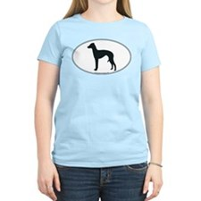 Cute Italian greyhound silhouette T-Shirt