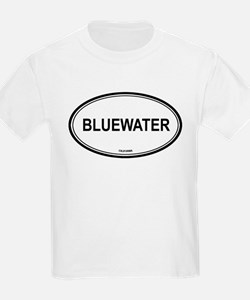 Bluewater oval Kids T-Shirt