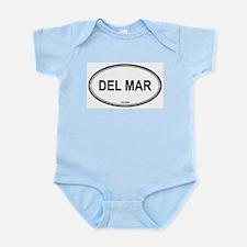Del Mar oval Infant Creeper