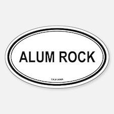 Alum Rock oval Oval Decal