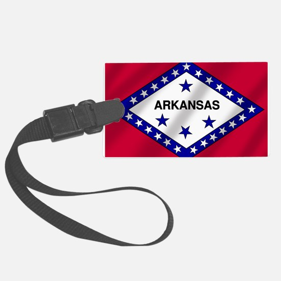Arkansas State Flag Luggage Tag